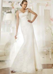 Свадебное платье из коллекции Просто любовь от Евы Уткиной прямое
