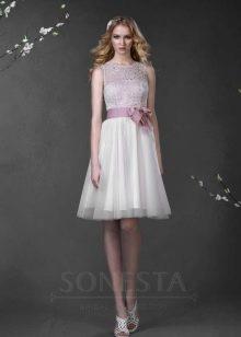 Свадебное платье из коллекции «Love Story» короткое