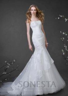 Свадебное платье от Наталии Романовой рыбка