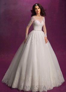 Пышное свадебное платье от Романовой