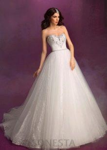 Свадебное платье со стазами