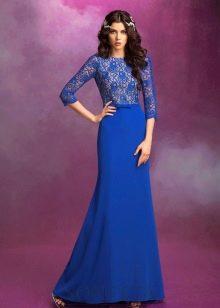 Свадебное платье из коллекции SONESTA синее
