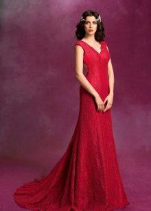 Свадебное платье из коллекции SONESTA красное