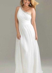 Вечернее платье 50 размера белое