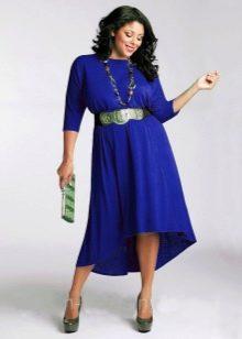 Платье короткое спереди длинное сзади для  50 размера
