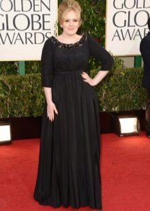 Черное вечернее платье для 56 размера