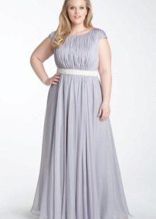 Вечернее платье ампир для девушек 52 размера