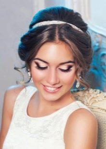 Диадема к свадебному наряда
