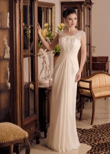 Свадебное платье прямое от Виктории Карандашевой