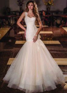 Русалка свадебное платье от Виктории Карандашевой