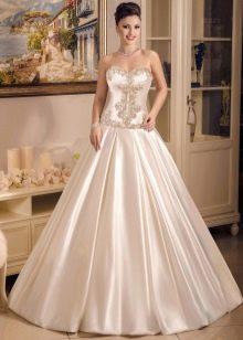 А-силуэта свадебное платье от Виктории Карандашевой
