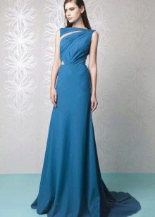 Вечернее платье синее от Tony Ward