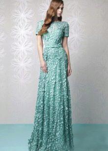 Кружевное вечернее платье от Tony Ward