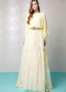 Вечернее платье от Tony Ward с рукавом