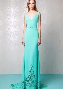 Вечернее платье от Tony Ward с вышивкой
