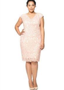 Вечернее платье со стразами для 52 размера