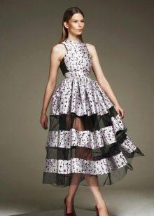 Вечернее платье для яркой вечеринки пышное