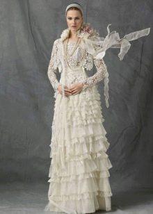 Свадебное платье из подиума