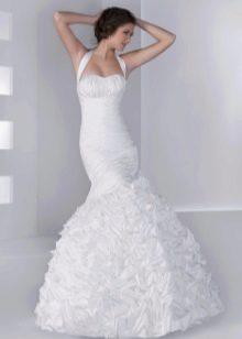 Свадебное платье из коллекции Серебро от Хадасса русалка