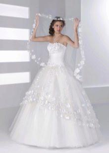 Свадебное платье из коллекции Серебро от Хадасса пышное