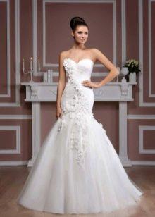 Свадебное платье из коллекции Diamond от Hadassa русалка