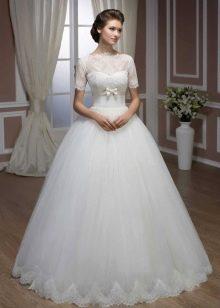 Свадебное платье из коллекции Diamond от Hadassa закрытое