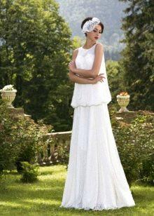 Свадебное платье из коллекции Brilliant от Hadassa со свободным верхом