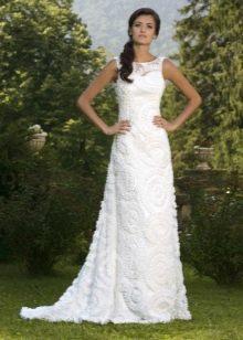 Свадебное платье из коллекции Brilliant от Hadassa с кружевом