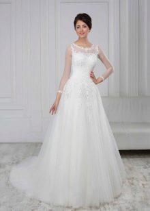 Свадебное платье из коллекции White пышное