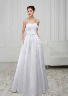 Свадебное платье из коллекции White а-силуэта