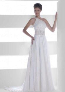 Свадебное платье из коллекции Серебро от Хадасса греческое