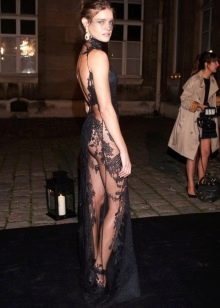 Вечернее платье Натальи Водяновой от Гивенши вид сзади