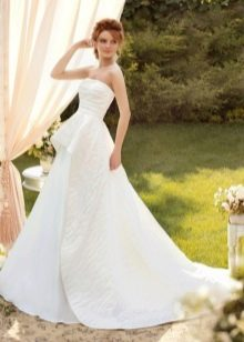 Свадебное платье от Папилио со съемной юбкой