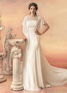 Свадебное платье от Папилио с рукавами