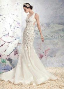 Свадебное платье от Папилио с кружевом