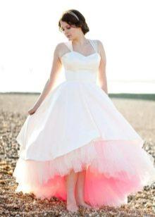 Свадебное пышное платье с подъюбником