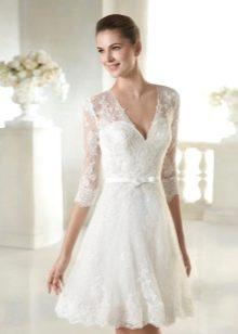 Свадебное платье короткое из коллекции Modern Bride от San Patrick