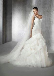 Свадебное платье от Сан Патрик русалка пышное