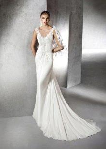 Свадебное платье от Сан Патрик с драпировкой