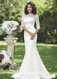 Свадебное платье прямое от  Slanovskiy