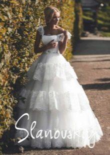 Свадебное платье пышное от  Slanovskiy