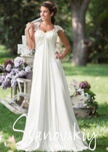 Свадебное платье ампир от  Slanovskiy