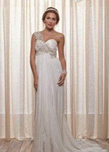 Свадебное платье от Anna Campbell с одной бретелью