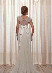 Свадебное платье от Anna Campbell с кружевной спиной