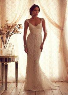 Свадебное платье из коллекции Gossamer  от Анны Кэмпбелл с декором