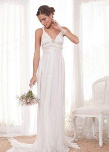 Свадебное платье простое от Анны Кемпбелл