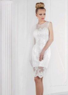 Свадебное платье от Оксаны Мухи со съемной юбкой