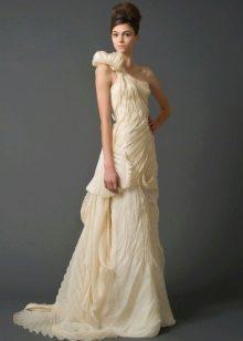 Свадебное платье от Веры Вонг из коллекции 2011 на одно плечо