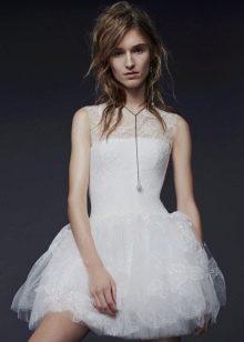 Свадебное платье 2015 от Веры Вонг короткое