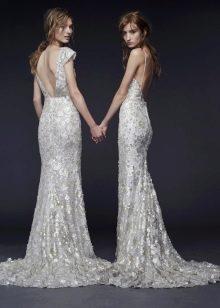 Свадебное платье 2015 от Веры Вонг кружевное